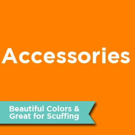brads, buttons, ribbons, & embossing accessories