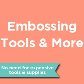 Embossing tool - so affordable