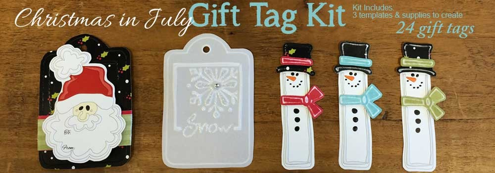 Christmas in July Gift Tag Kit