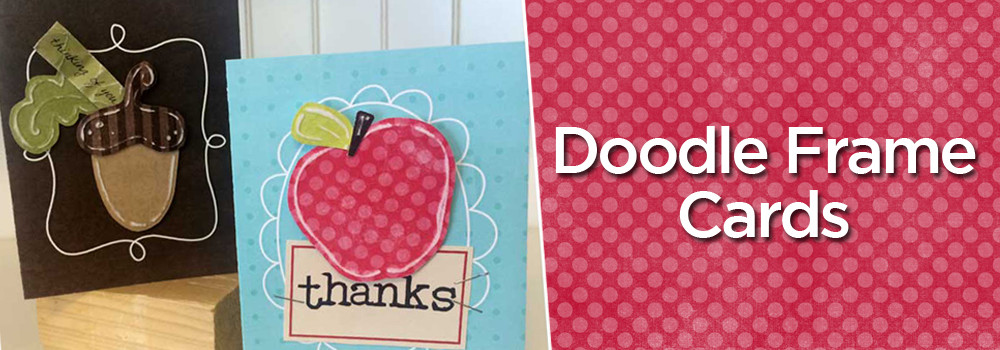 Doodle fold-over Card Collection