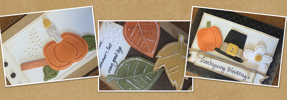New Fall Embossing Temlates
