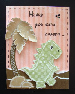 Donna's Dragon #L9764 Inside reads: Feel better soon!