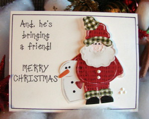 Donna Lane's Santa L.I. Template #L9770 inside