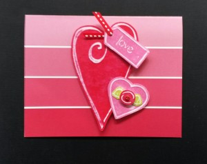 Barbara's Valentine using Template #L9453 and #L9462.