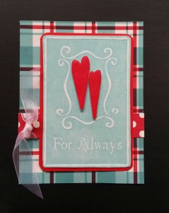Barbara's Valentine using Template #L9374