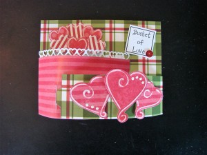 "Donna's ""Bendi"" Valentine using Template #L9459 and #L9182."