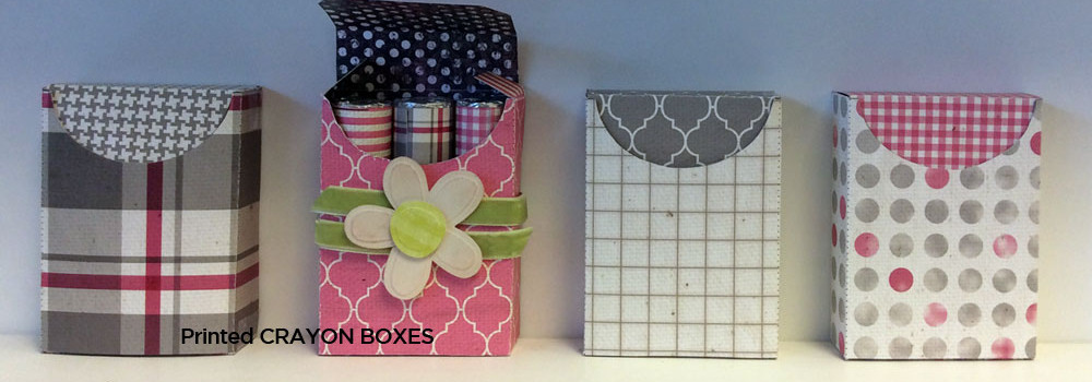 Crayon Box paper pattern