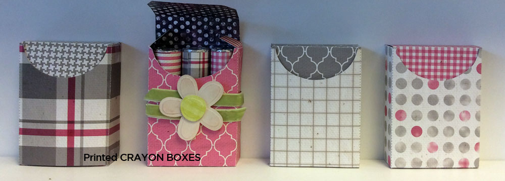 Valentine Crayon Box es by Lasting Impressions and their new cardstock release.