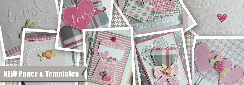 NEW Paper and Embossing Templates!