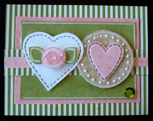 Donna's Valentine using Template #L9462.