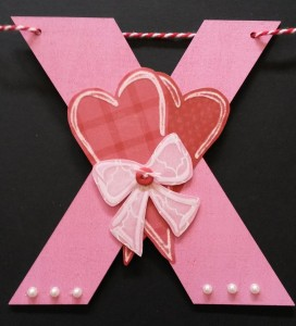 Barbara's Valentine X using L.I. Template #L9453.