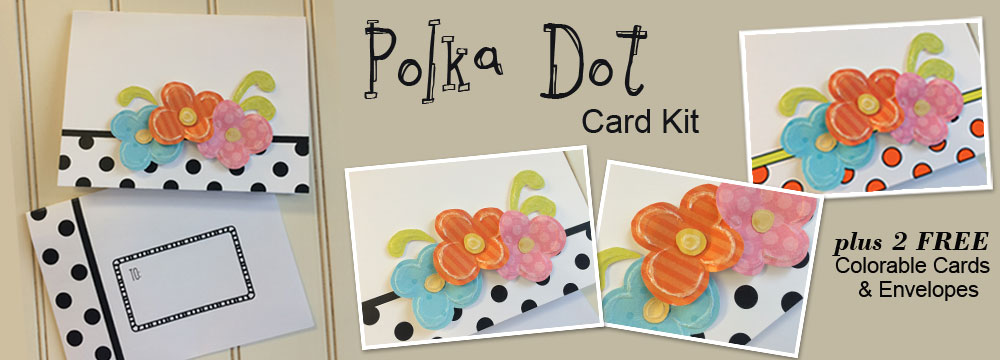 Polka Dot Card Kit