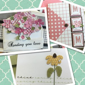Kaye's Lasting Impressions'  Mother's Day Class Kit.